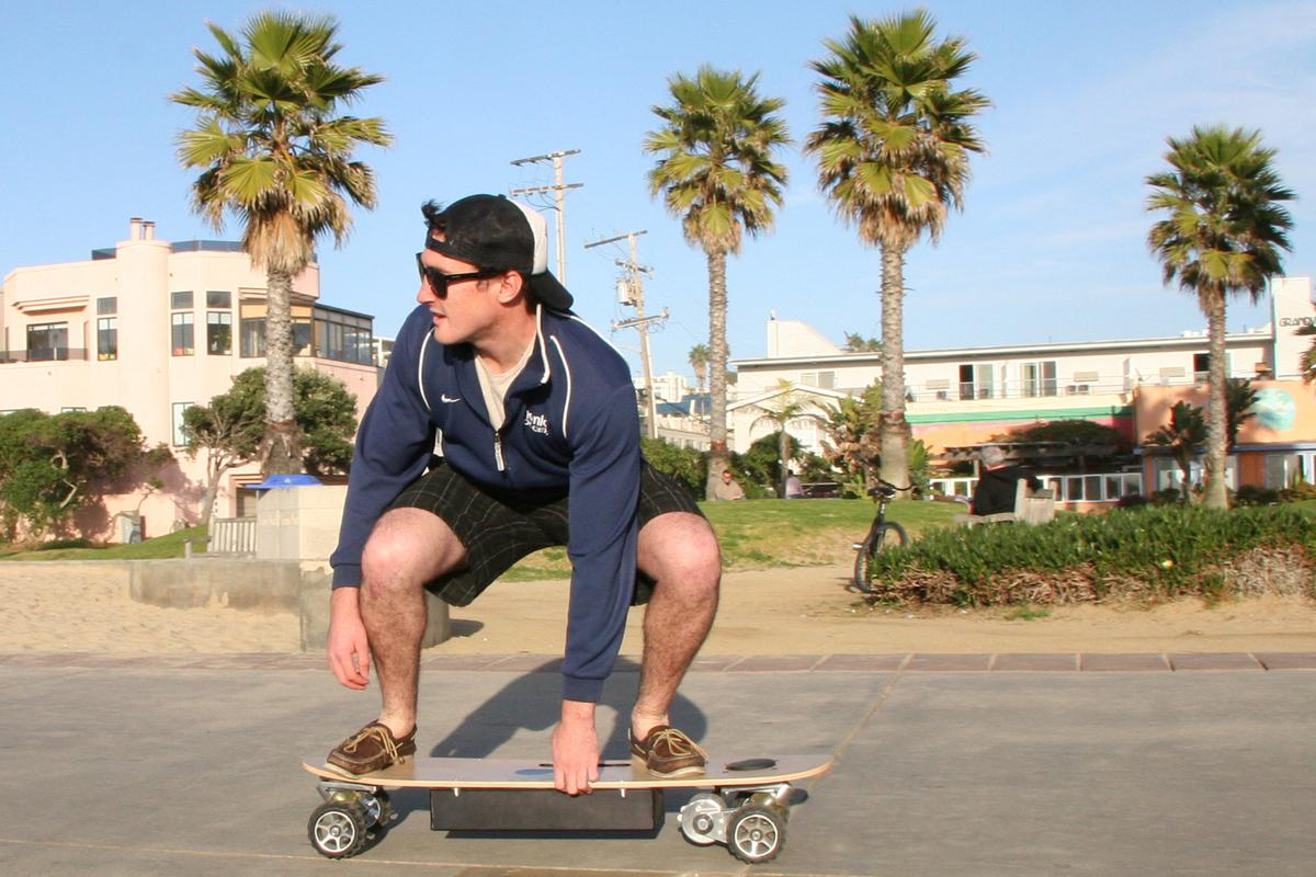 The ZBoard was designed in sunny southern California