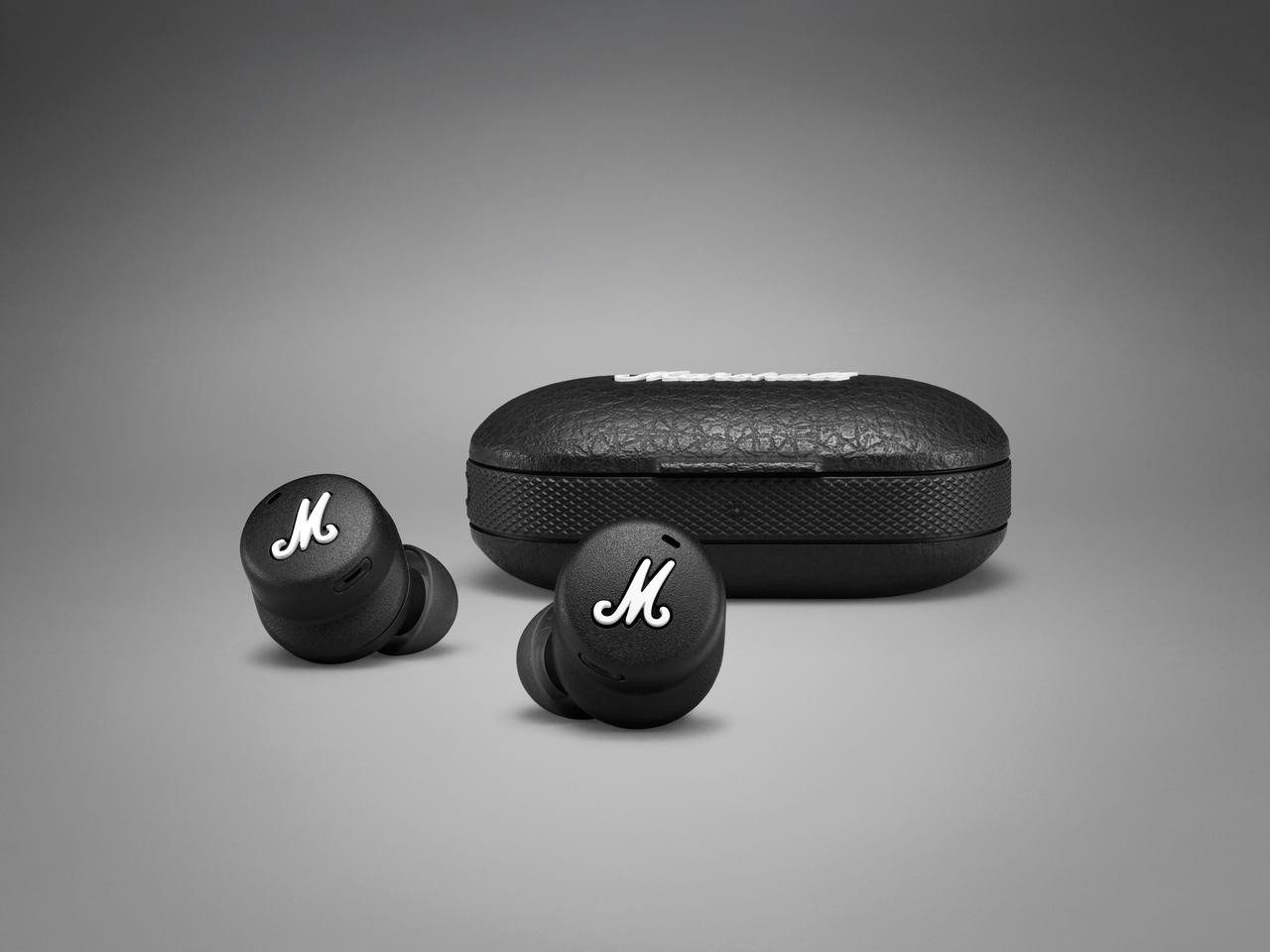 The Mode II earphones are good for up to five hours of playback, with the charging case offering four full top ups