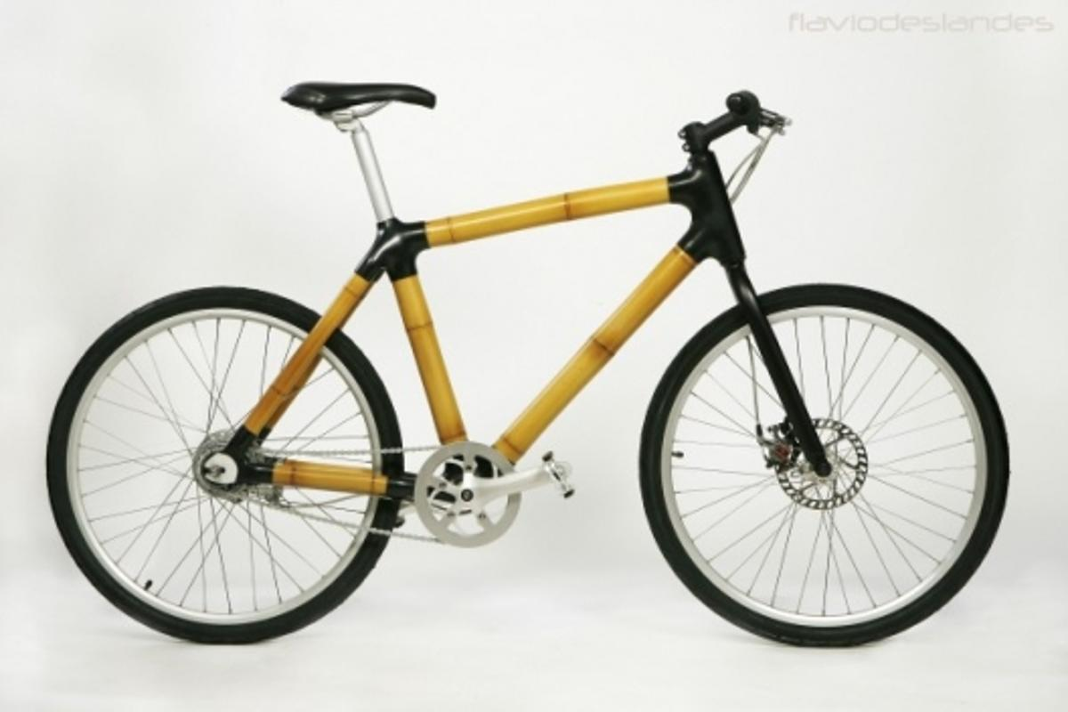 A new range of bamboo bicycles is being released in Denmark by Brazilian industrial designer, Flavio Deslandes