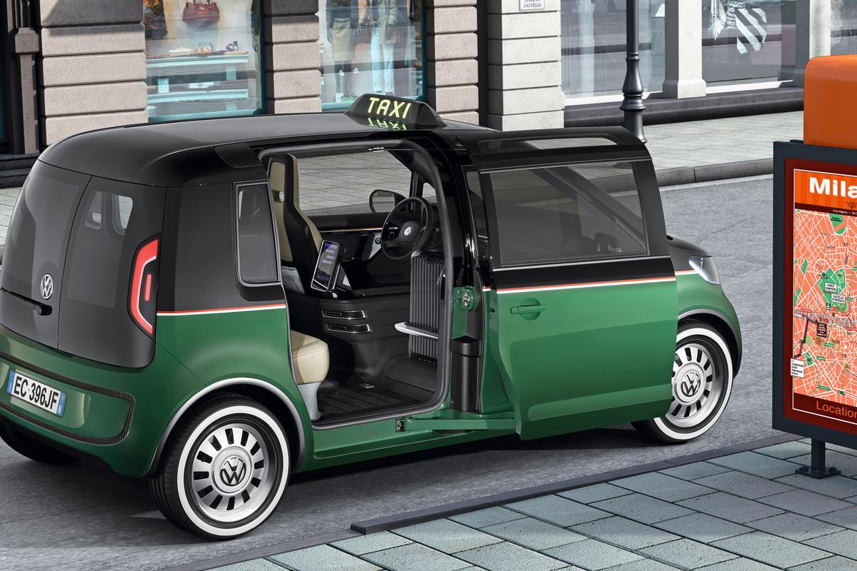 Volkswagen's Milano Taxi Electric Vehicle concept