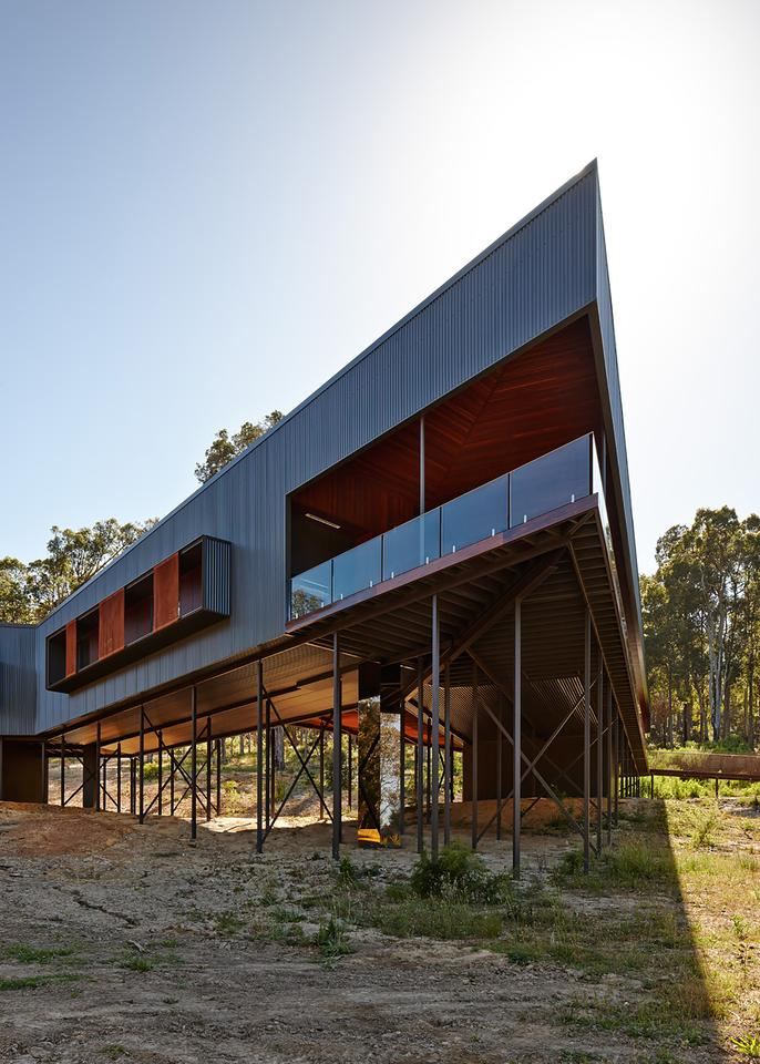 The Nannup Holiday House is located in Nannup, Western Australia (Photo: Peter Bennetts)
