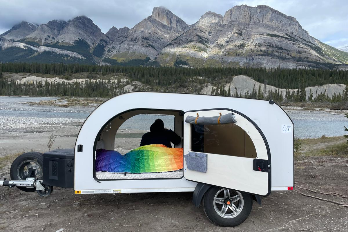 With its large reverse doors and multiple windows and skylights, the new Droplet XL offers serious views, day and night