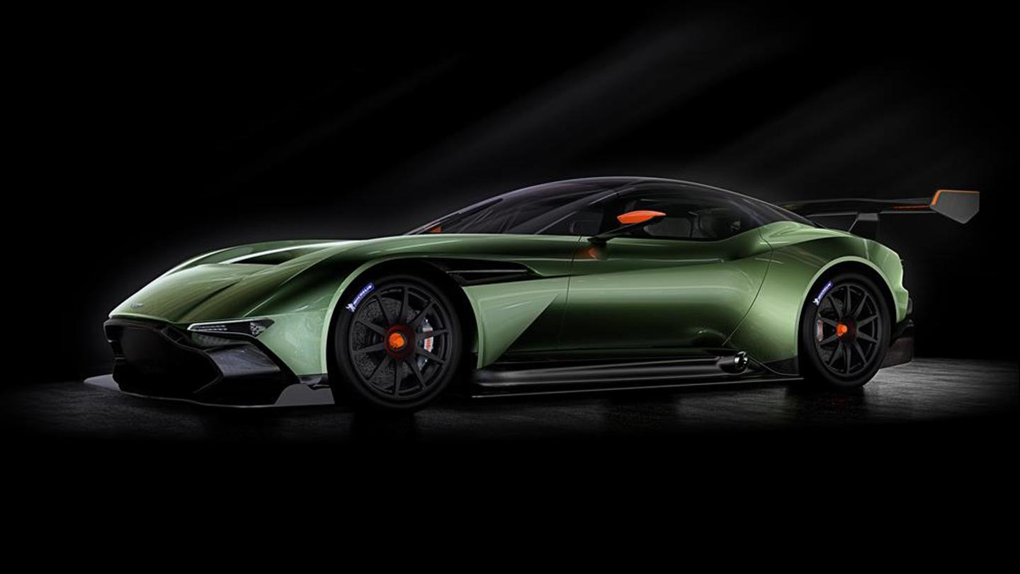 The Aston Martin Vulcan is limited to a run of 20 units