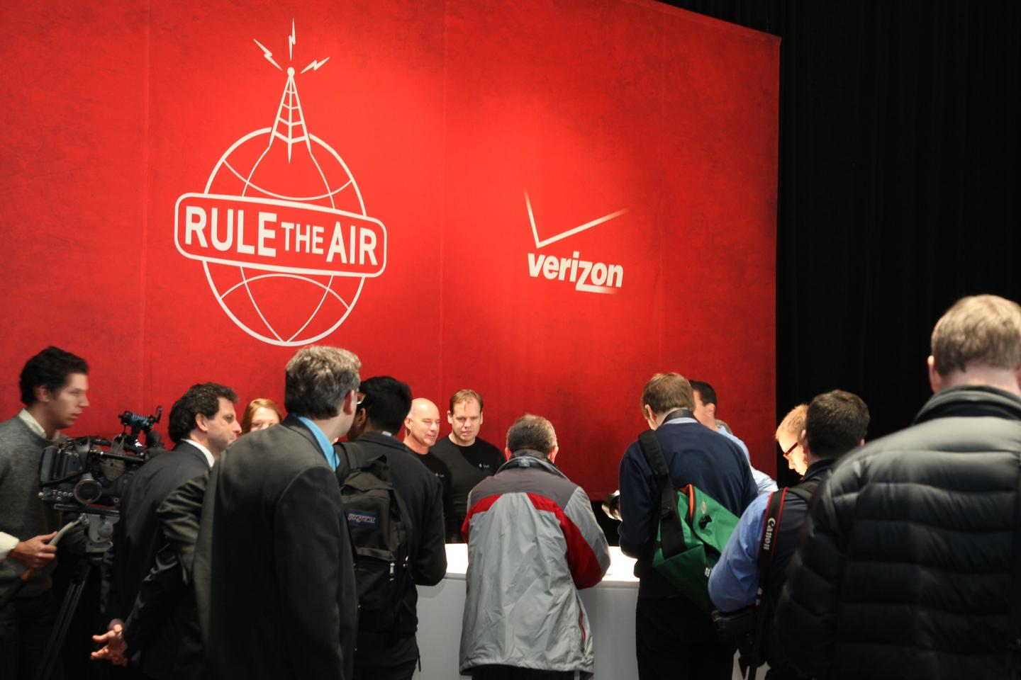 The Apple/Verizon press conference in New York City