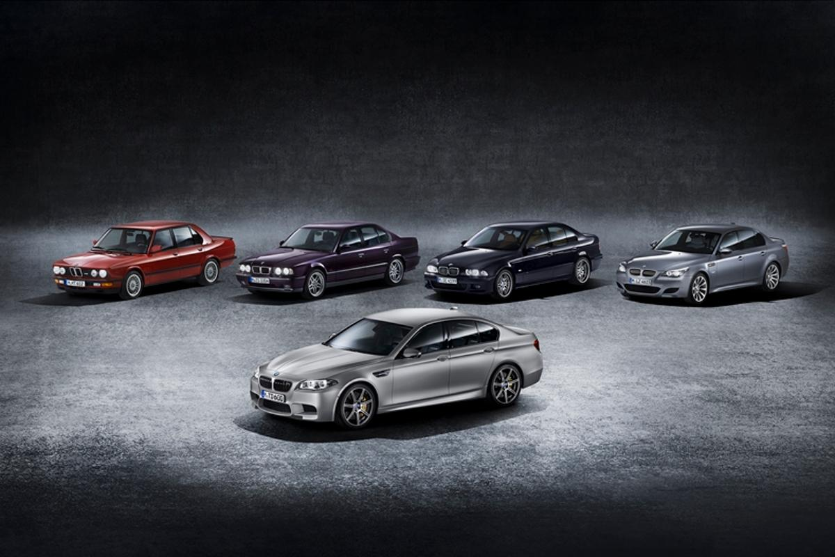 BMW has announced a special edition of the M5 to celebrate the car's 30th birthday