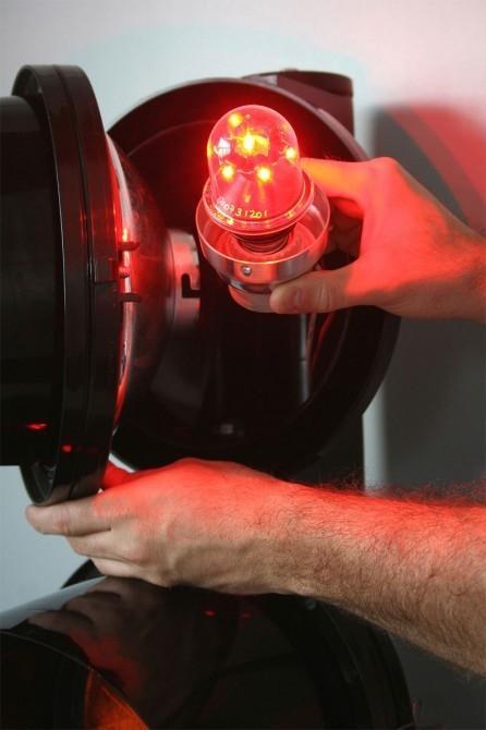 Eco-friendly LED traffic lights