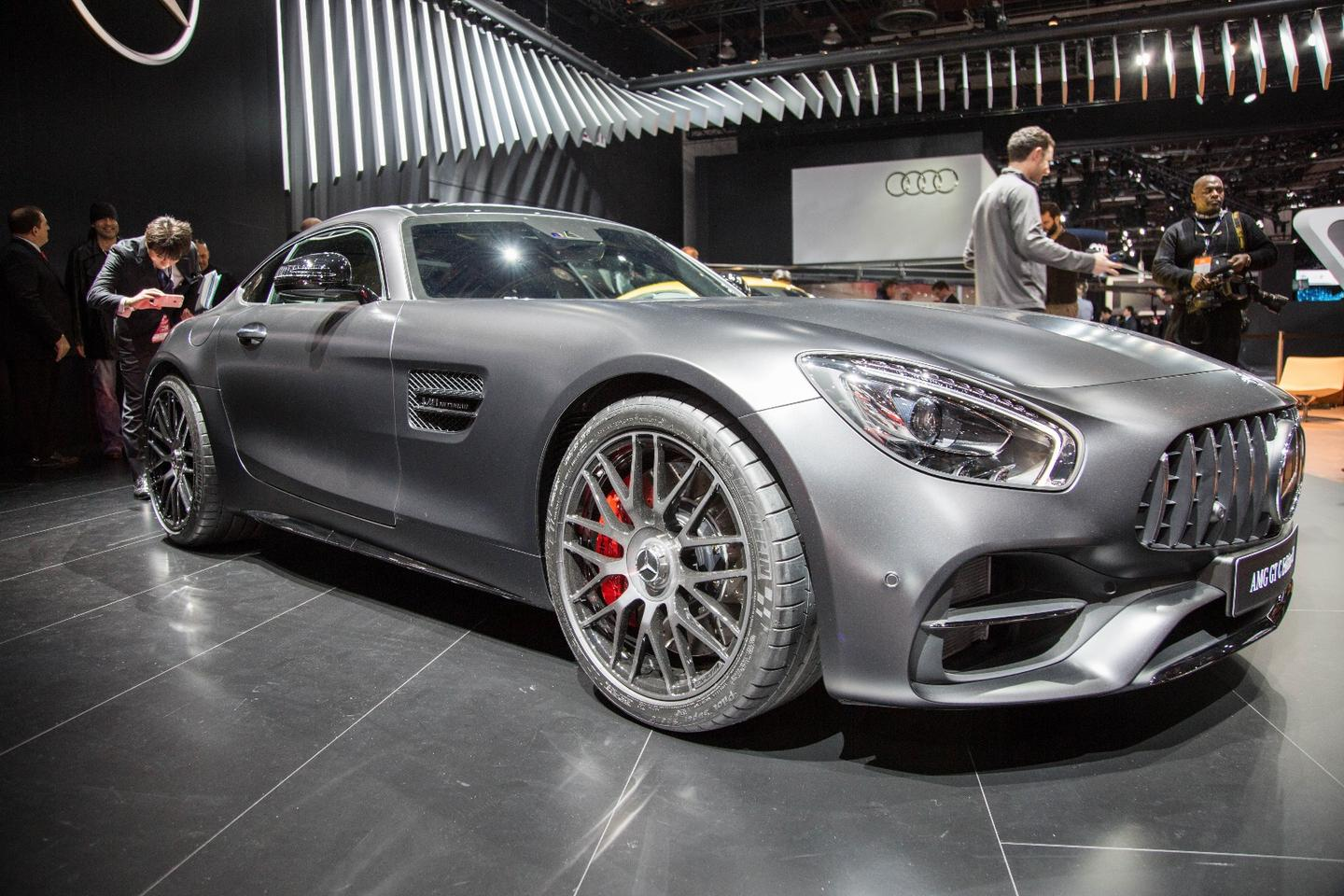 Mercedes-AMG has given the 4.0-liter V8 biturbo engine a few tweaks, resulting in power upgrades