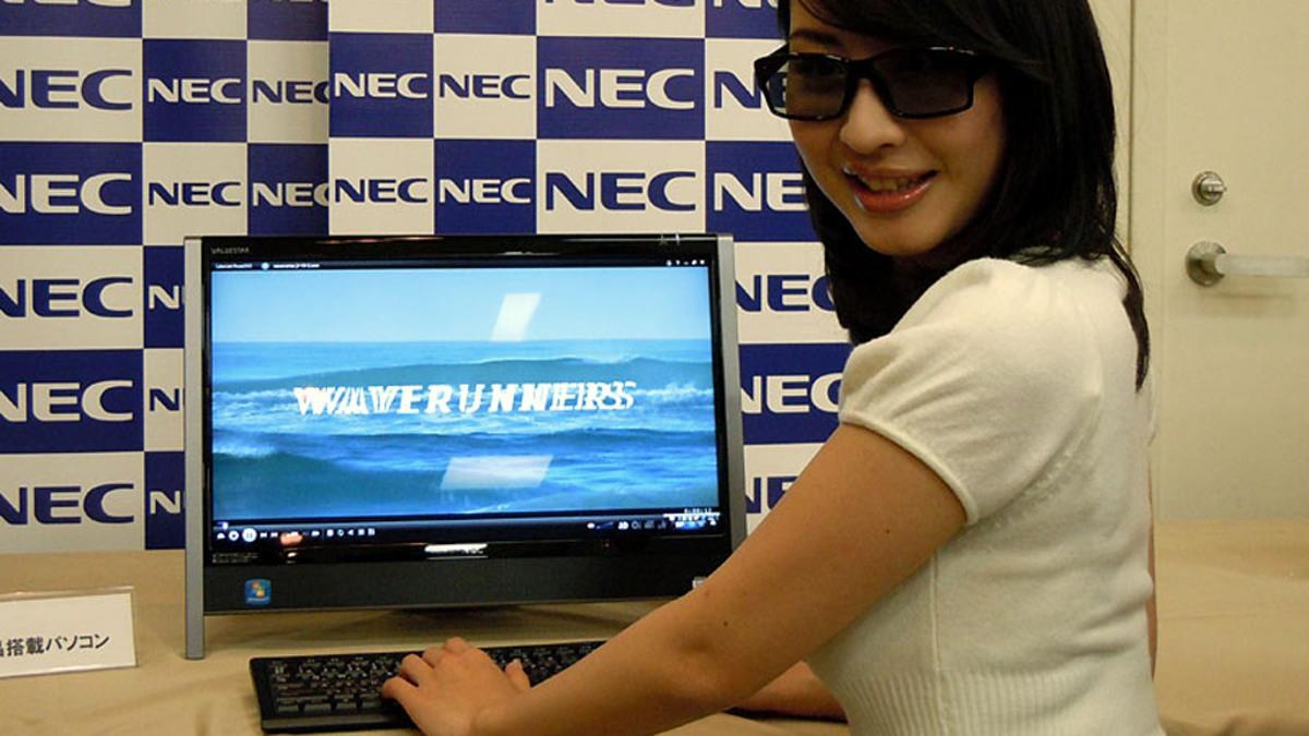 NEC's prototype 3D all-in-one PC is demoed in Japan