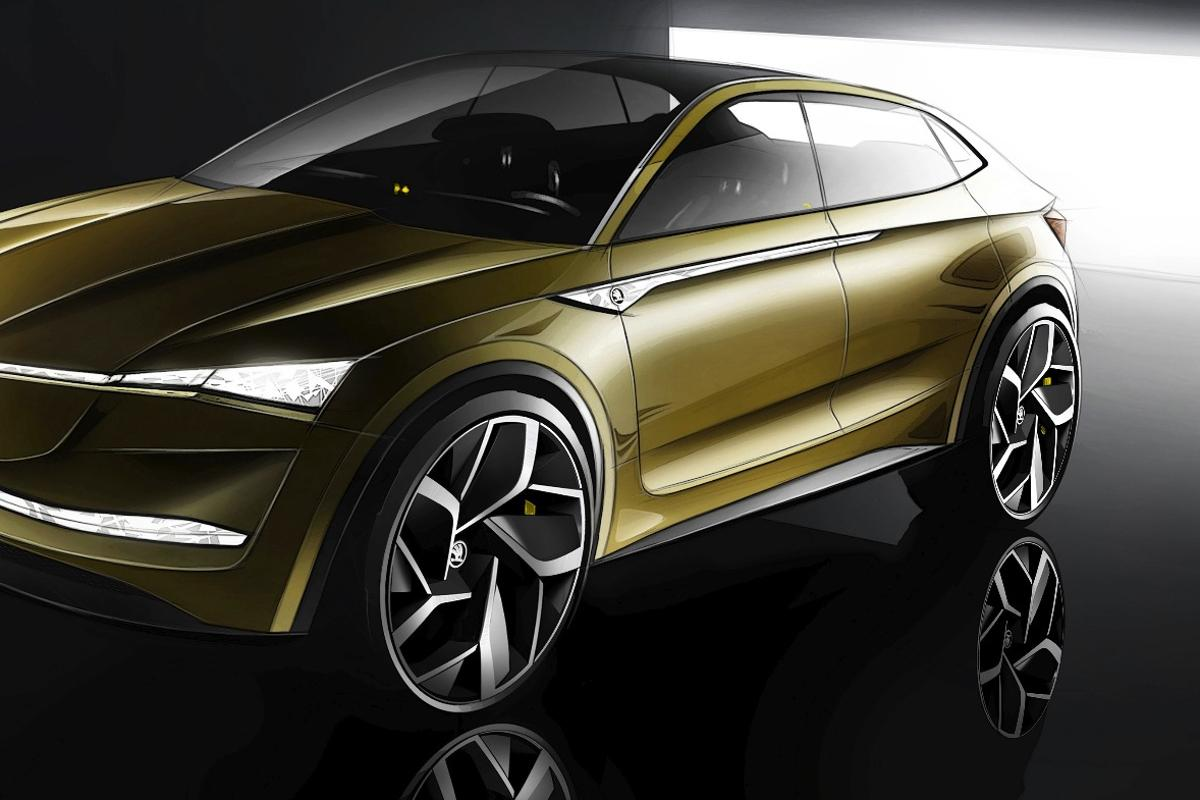 The Vision E will make its debut at Auto Shanghai in April