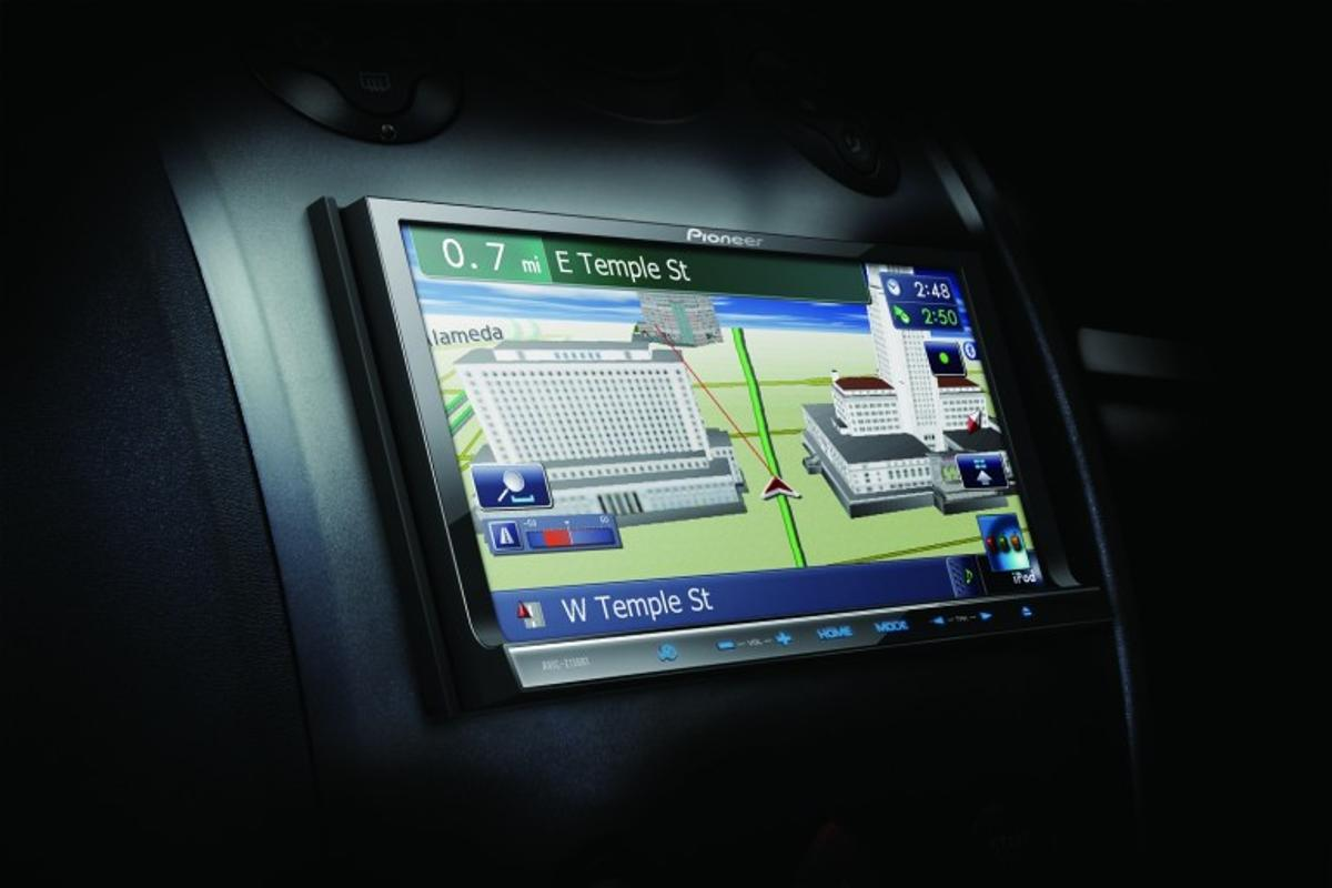 Pioneer AVIC-Z130BT in-car navigation system
