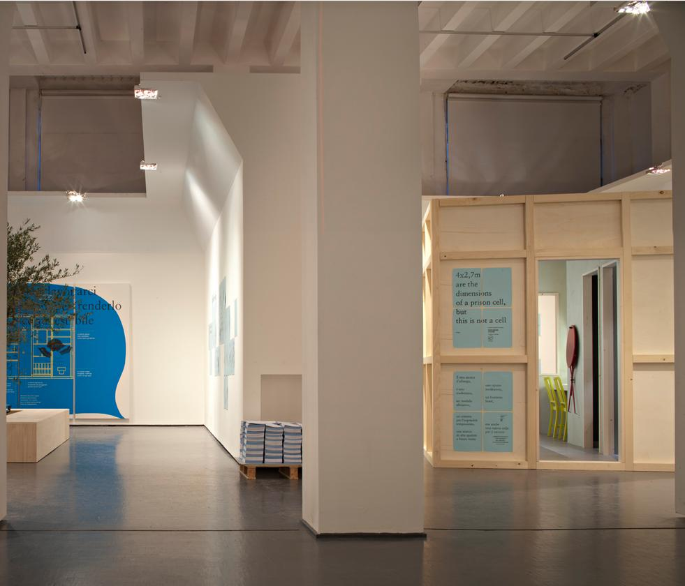 Freedom Room was exhibited at this year's Milan Design Week