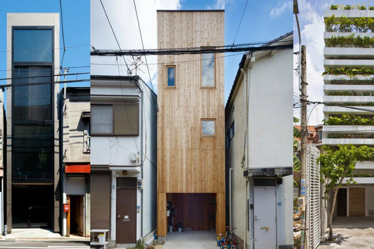 The skinny house revolution leaves no urban space undeveloped