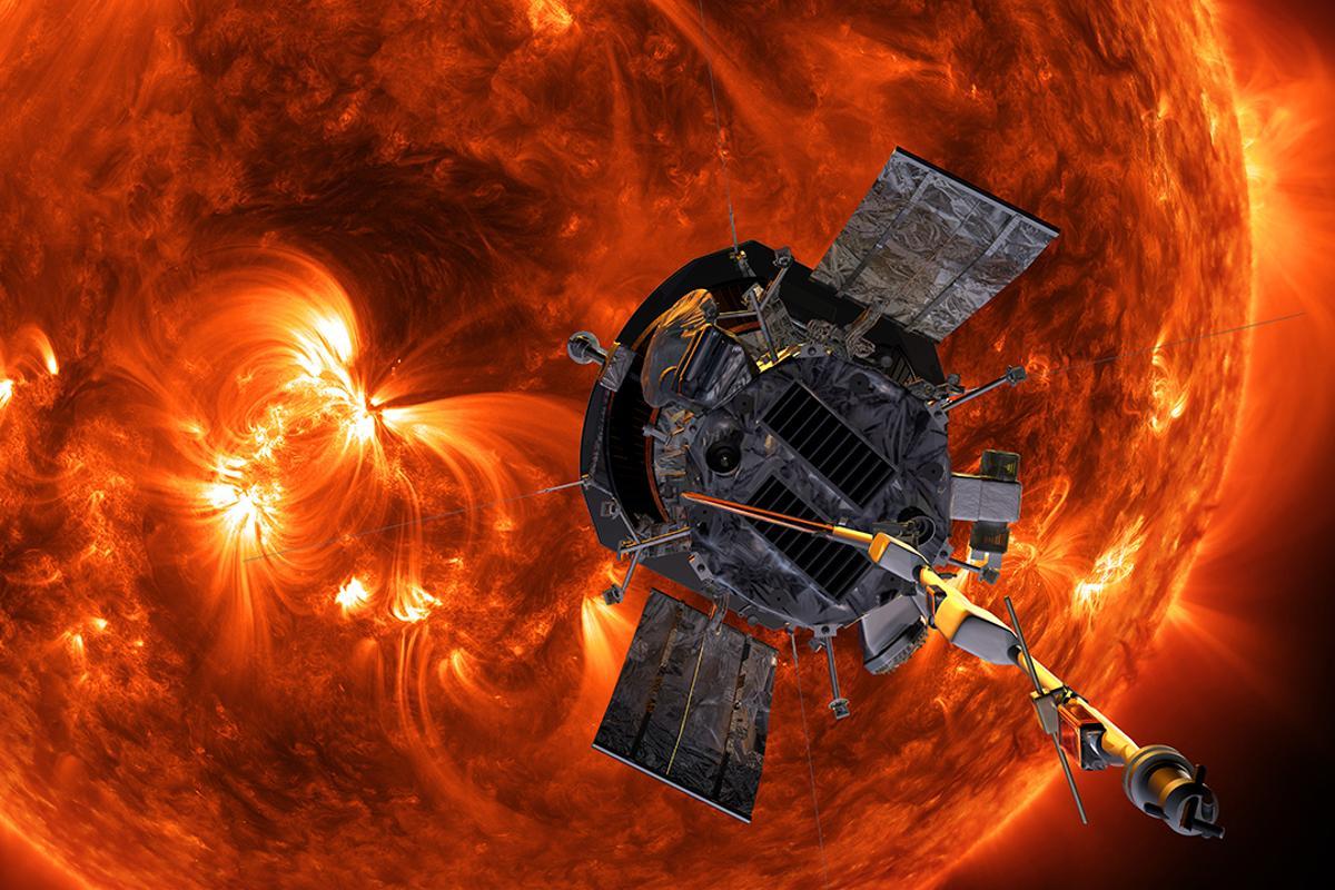 Artist's concept of the Parker Solar Probe