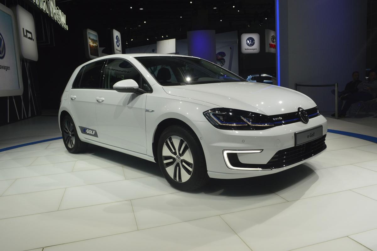 The 2017 e-Golf has premiered at Automobility LA
