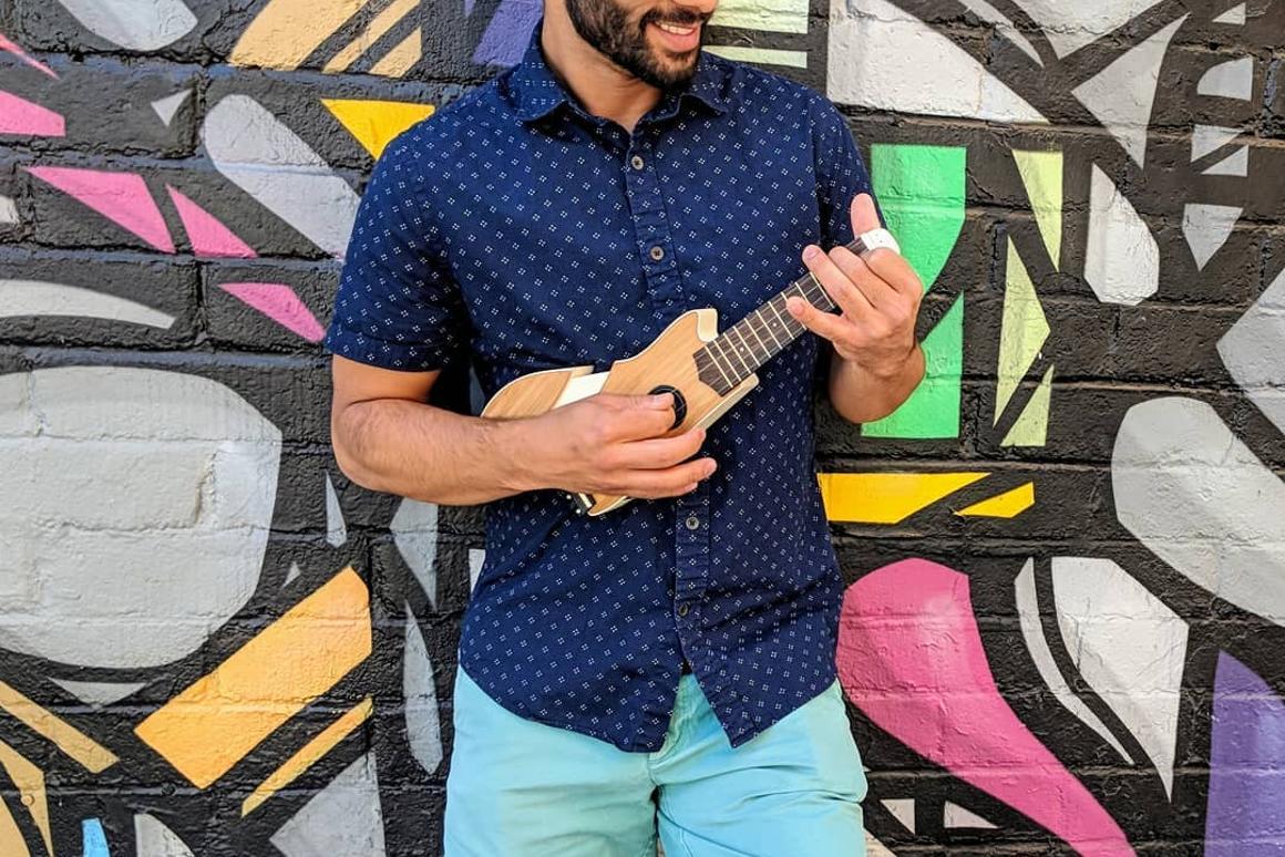 The Ava travel ukulele has launched on Kickstarter to raise production funds