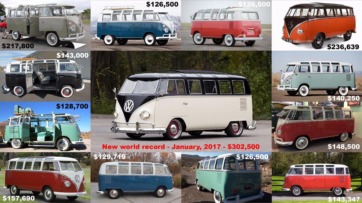The last five years has seen one of the enduring icons of sixties personal freedom appreciate in value so quickly that many owners may not know the value of their car could soon eclipse the value of their home. Last Saturday, January 21, 2017, a 21-window Volkswagen Samba sold for $302,500, indicating that the trend is further accelerating.