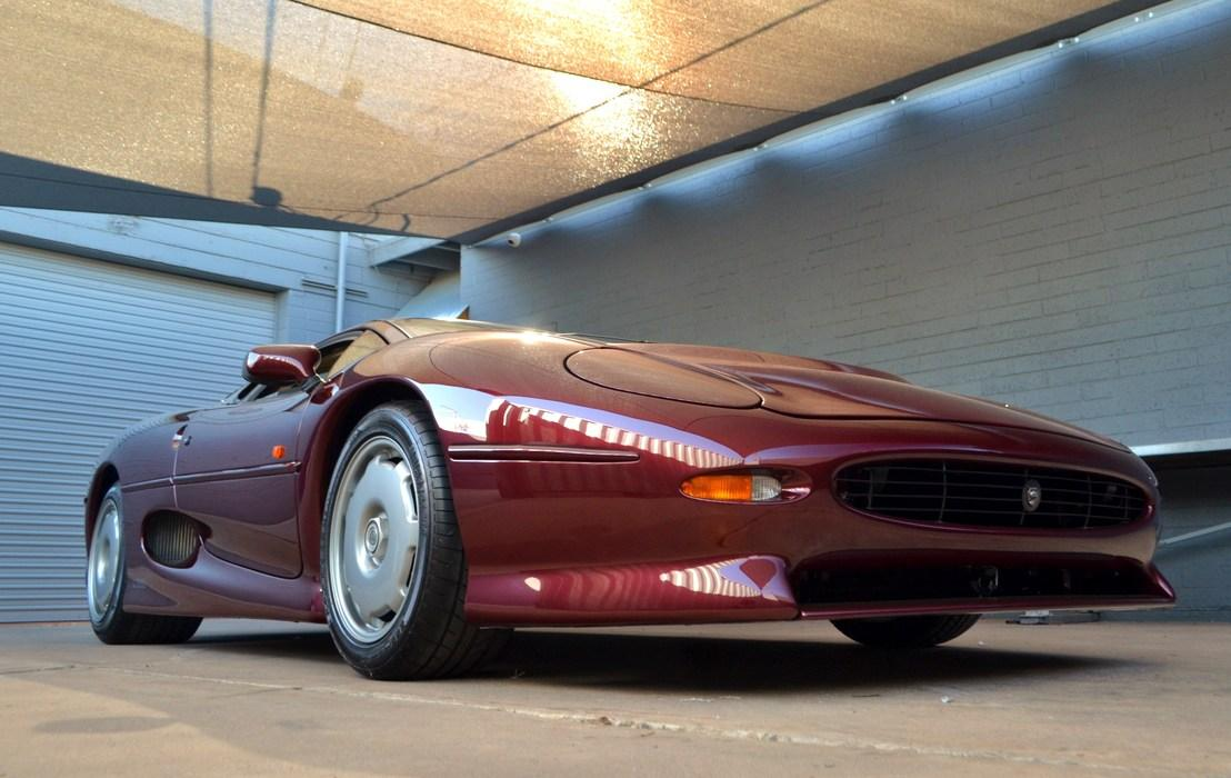 The XJ220 will hit 217 mph, but was usurped by the McLaren as the world's fastest car in 1994