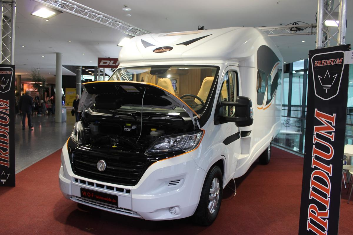 The Iridium all-electric motorhome debuts at CMT2019