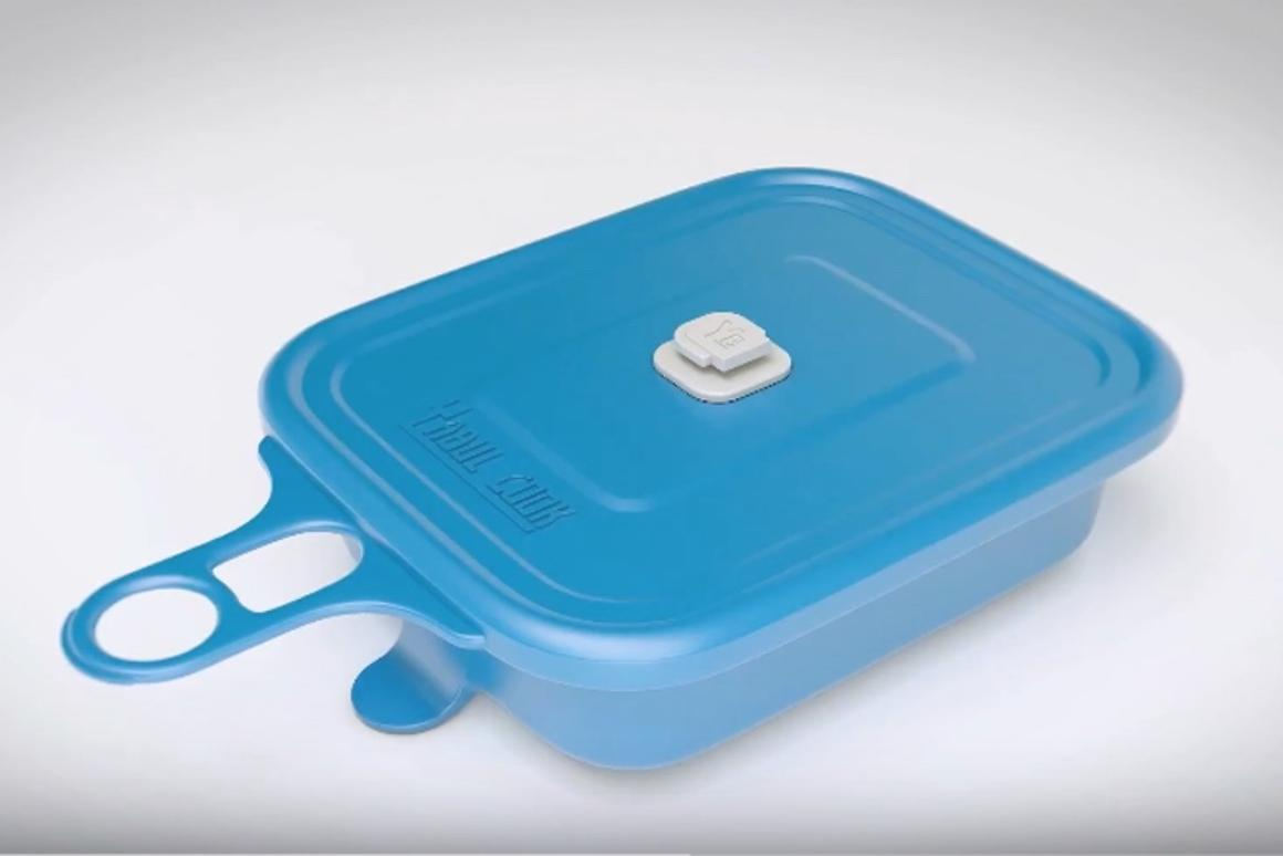 YABUL Cook is a neat, portable flameless cooking system
