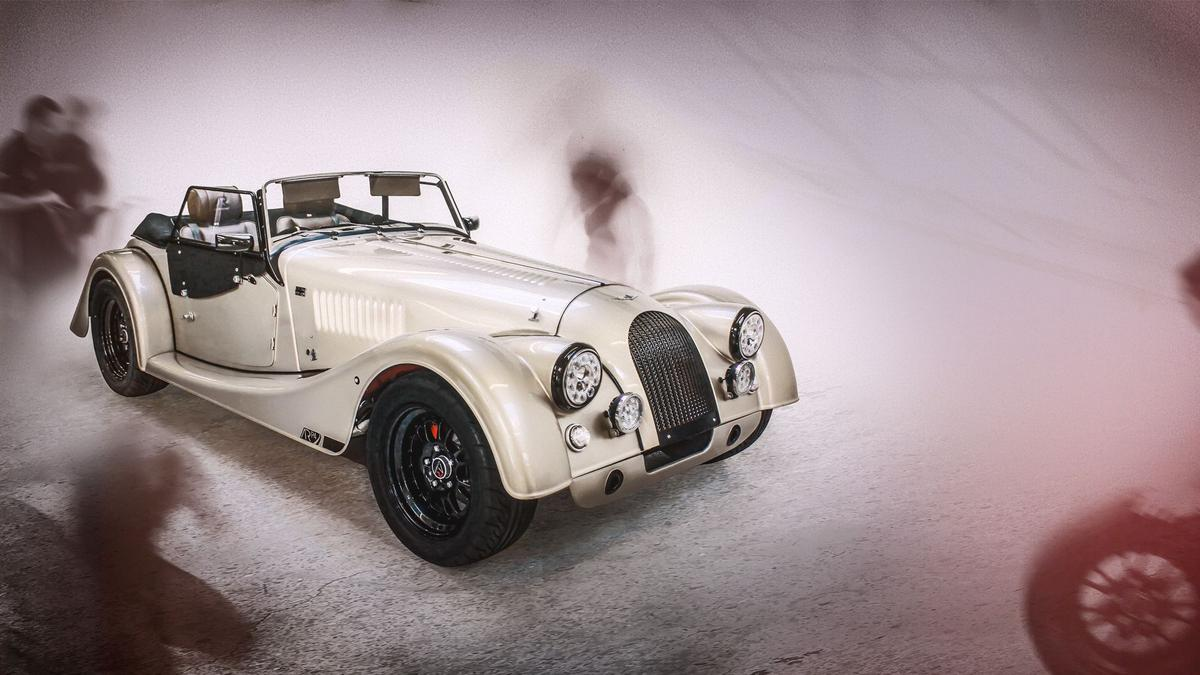 The Morgan ARP4 is a Cosworth-powered celebration of 65 years of the Plus 4 bodystyle