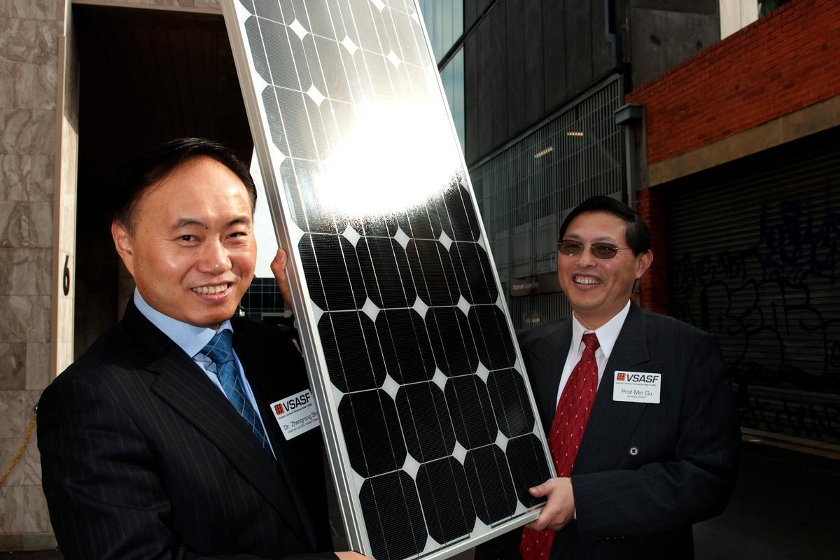 "Scientists have set a new record for thin-film solar cell efficiency, using ""bumpy"" silver and gold nanoparticles"