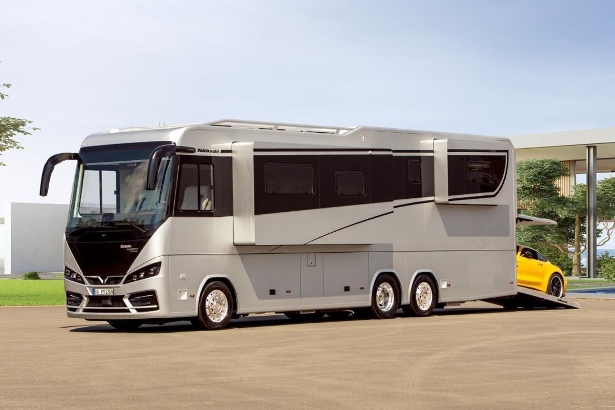 The new-generation Vario Perfect 1200 Platinum debuts at this year's Caravan Salon