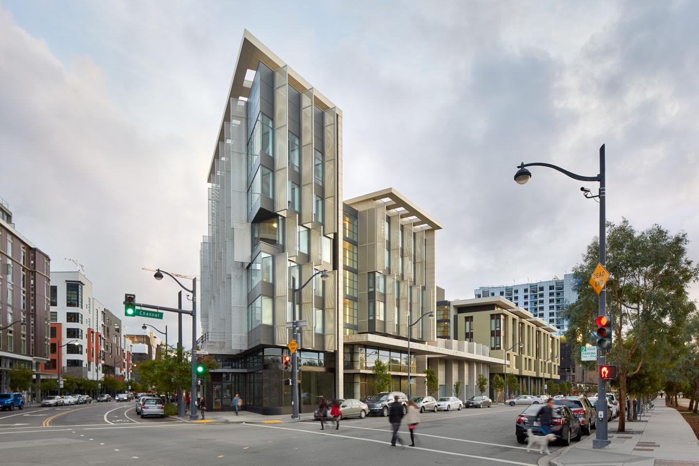 1180 Fourth Street in San Francisco, was designed by Mithun and offers affordable housing to 150 low income, very low income and formerly homeless families and individuals
