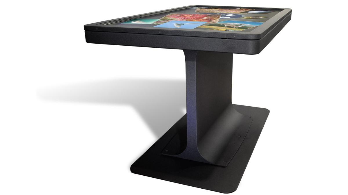Ideum has announced a new slim addition to its series of 55-inch multitouch tables, with solid state storage anddual-core processing power