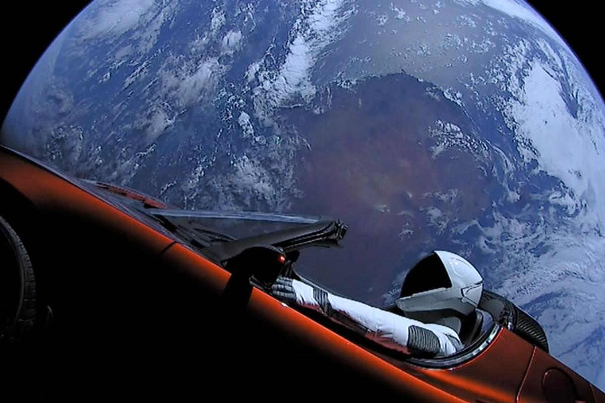 2018 saw numerous firsts, includingthe first road car to head into space