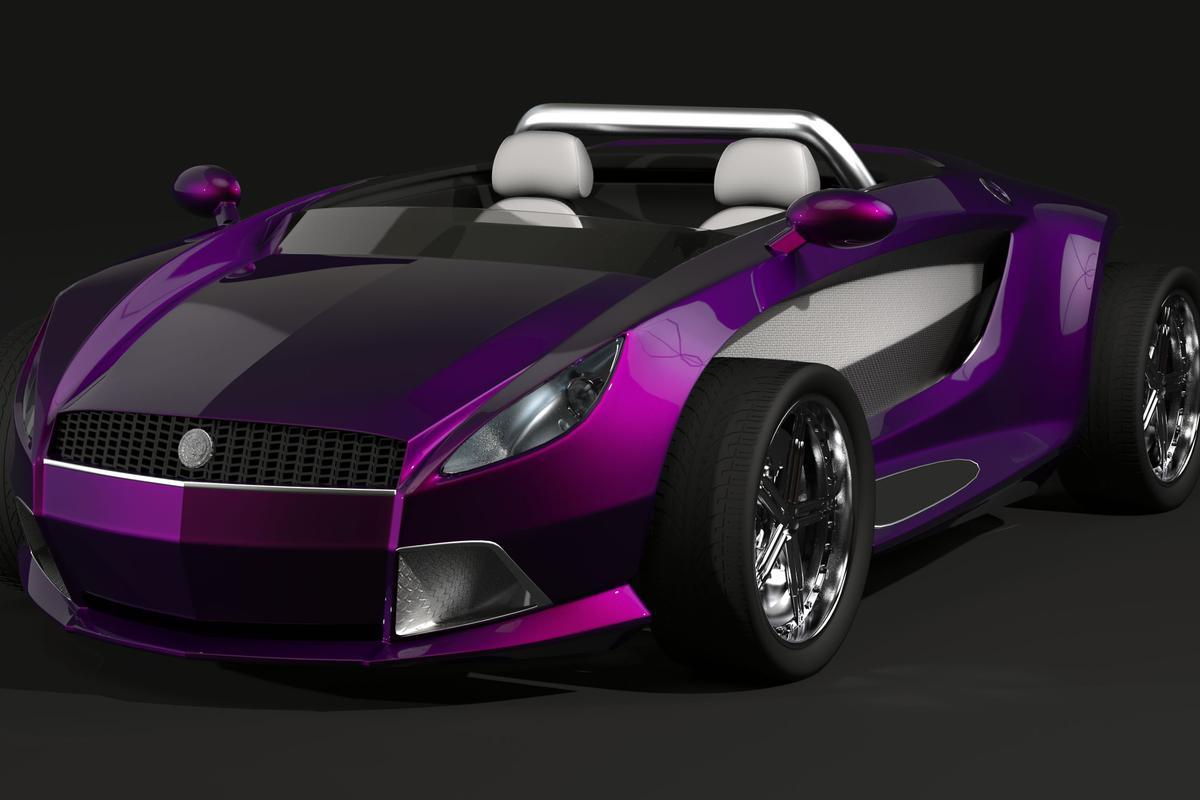 The Dartz Jo-Mojo electric roadster