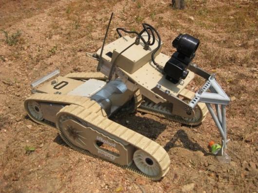 The iRobot Warrior 700