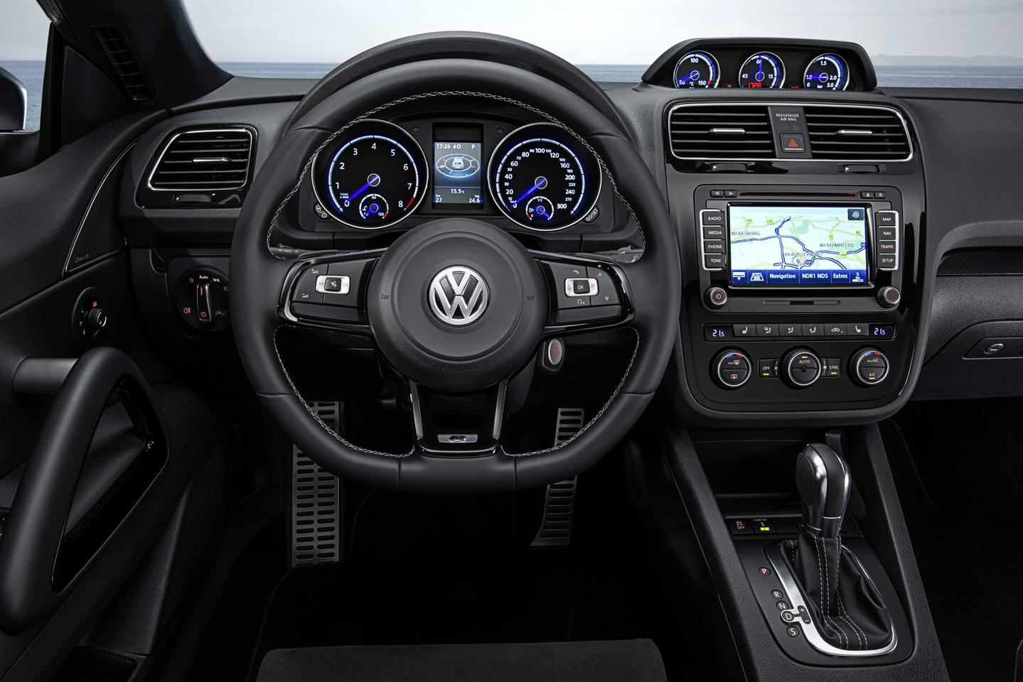 VW's new Scirocco has a refreshed interior