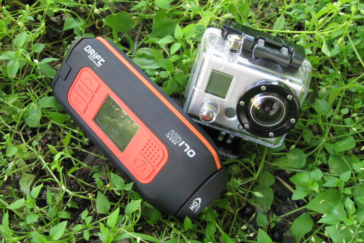 The Drift Innovation HD-170 and the GoPro HERO HD
