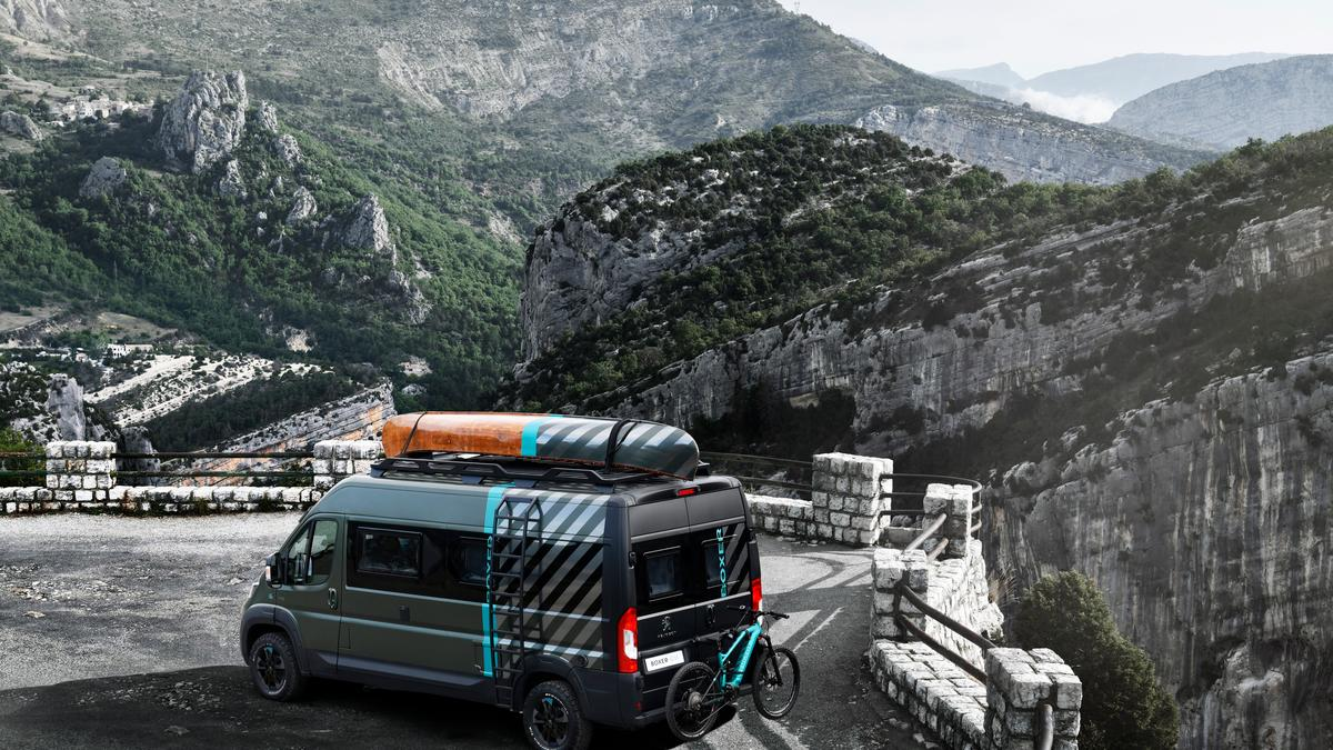 Peugeot seeks action with Boxer 4x4 camper van