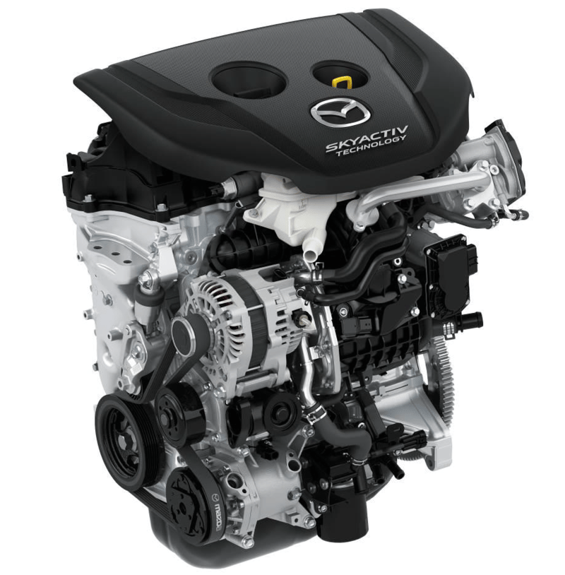 Mazda's 1.5-liter SKYACTIV diesel engine