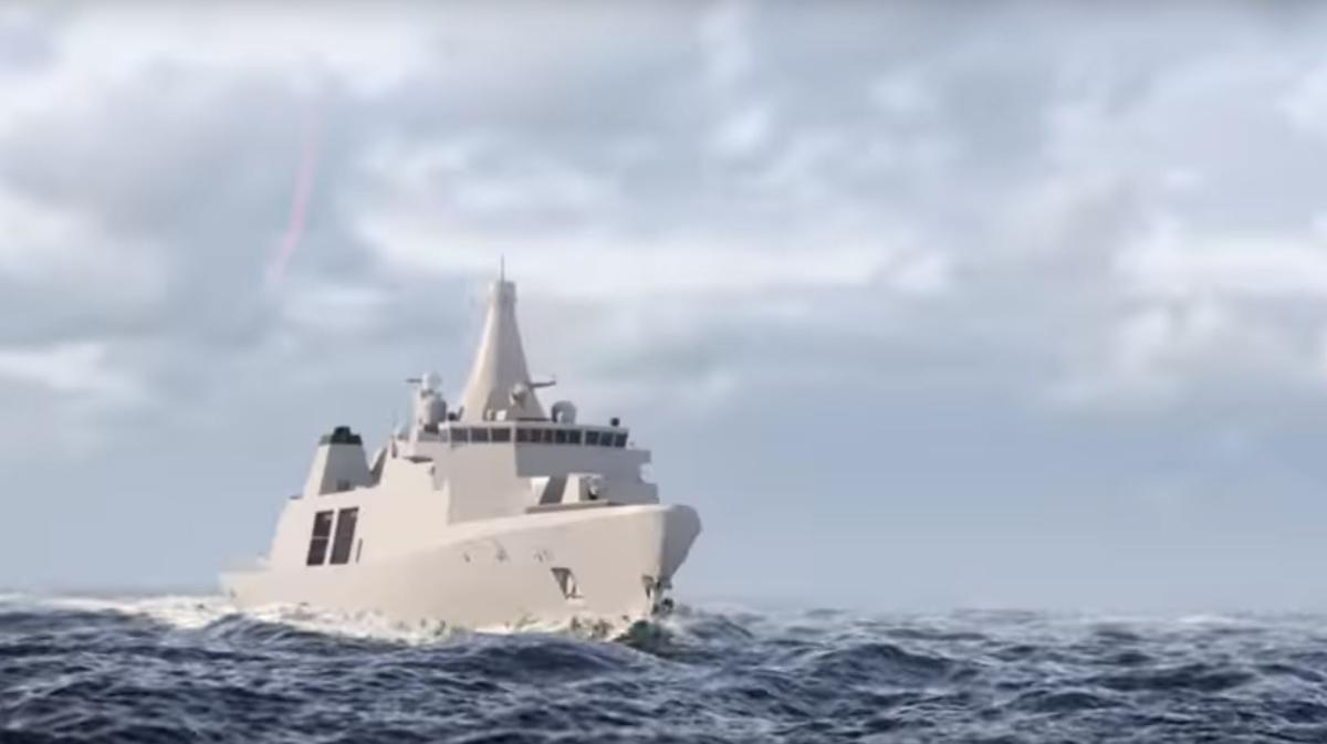 The Arrowhead 140 is Babcock's submission for the Royal Navy's Type 31e competition