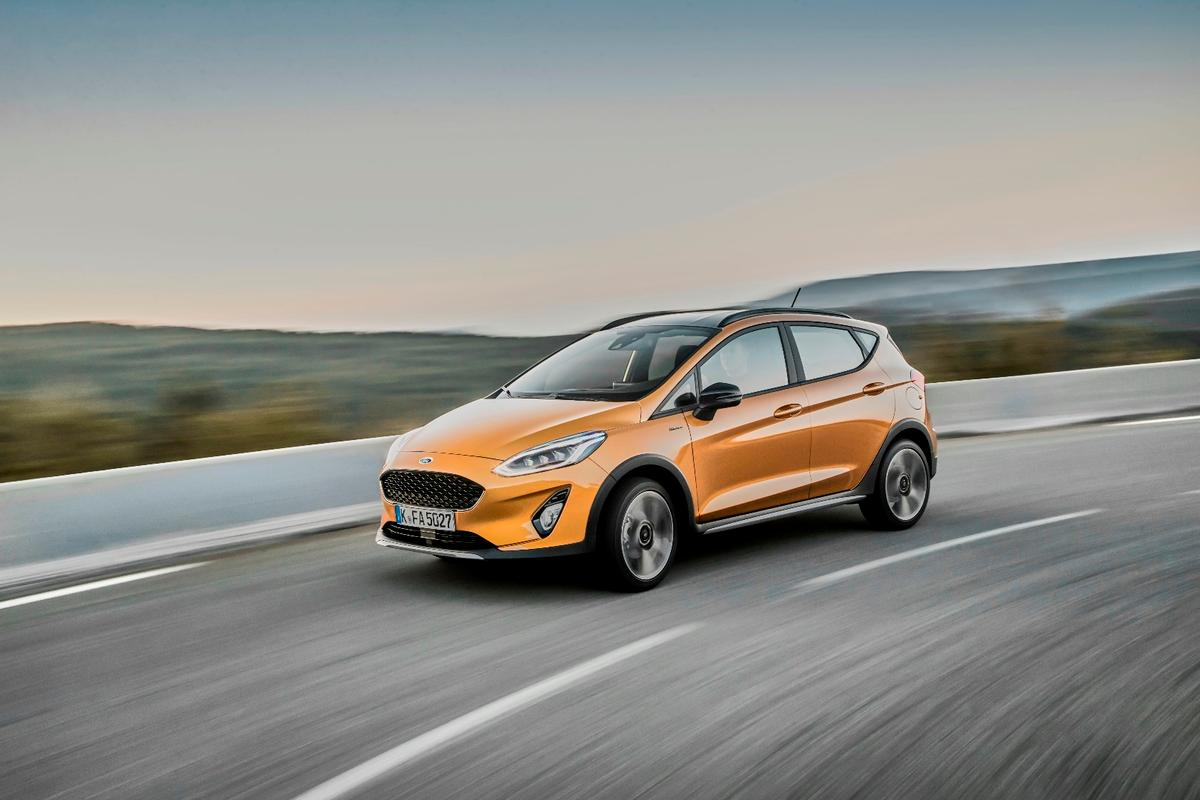 The Fiesta Active beefs up the Fiesta hatchback into a more robust vehicle akin to a crossover without actually crossing the vague line that defines a crossover-SUV