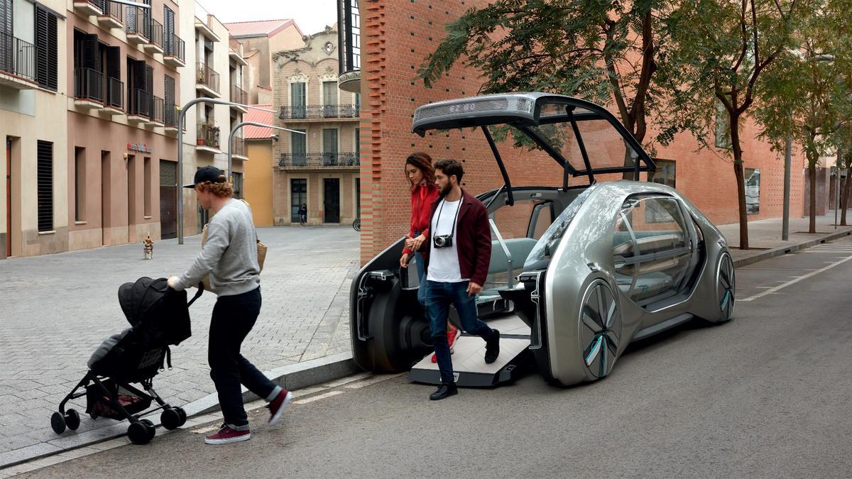The EZ-GOrobo-car – coming sorta soon to a street near you?