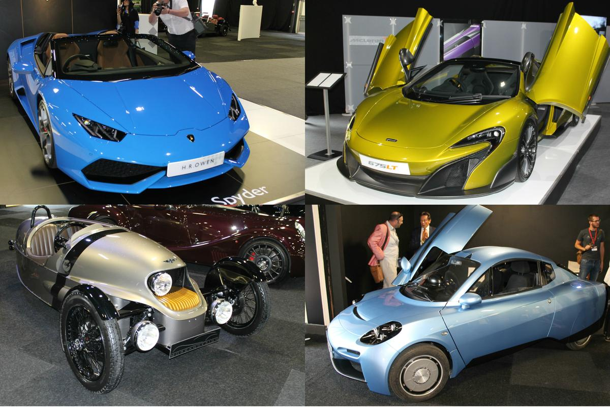 The 2016 London Motor Show runs from May 6th-8th at Battersea Evolution