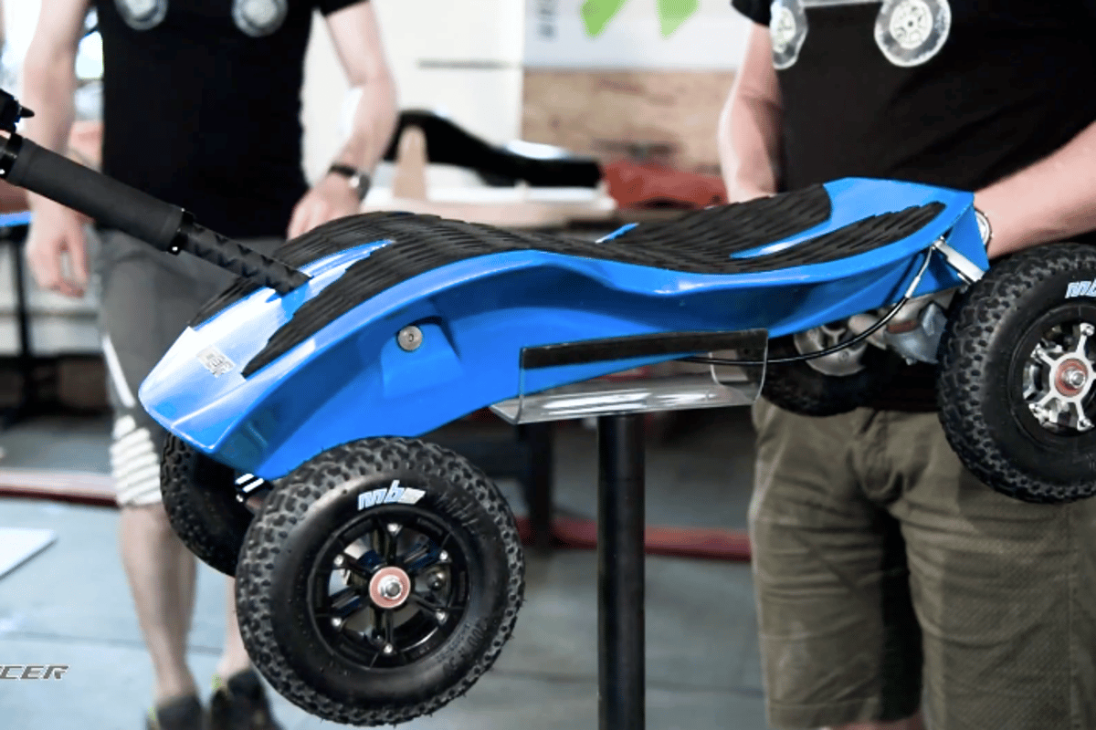 Up close with the Xraycer summer sled