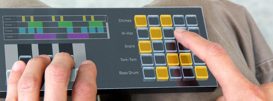 The tactile touchscreen provides the physical feedback that is absent in standard touchscreens (Photo: Tactus Technology)