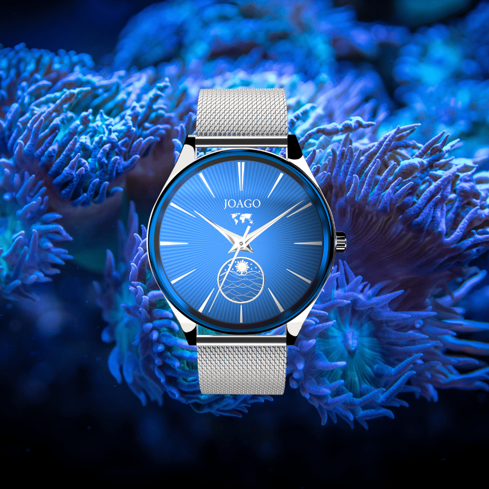 Joago watches feature an anti-scratch surface finish