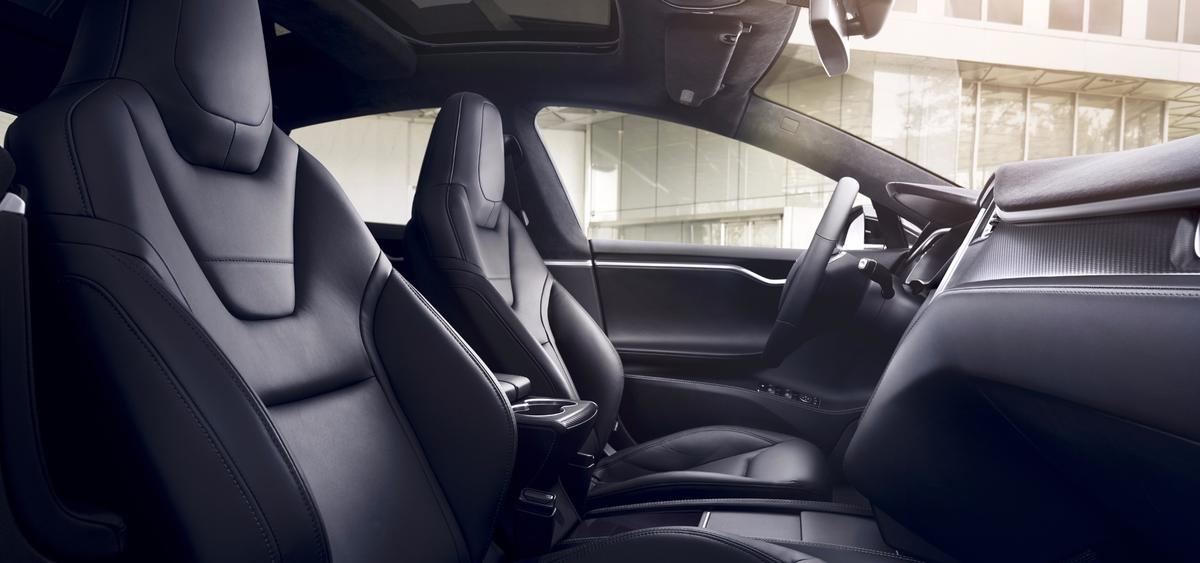 Tesla has given the cabin a mild upgrade