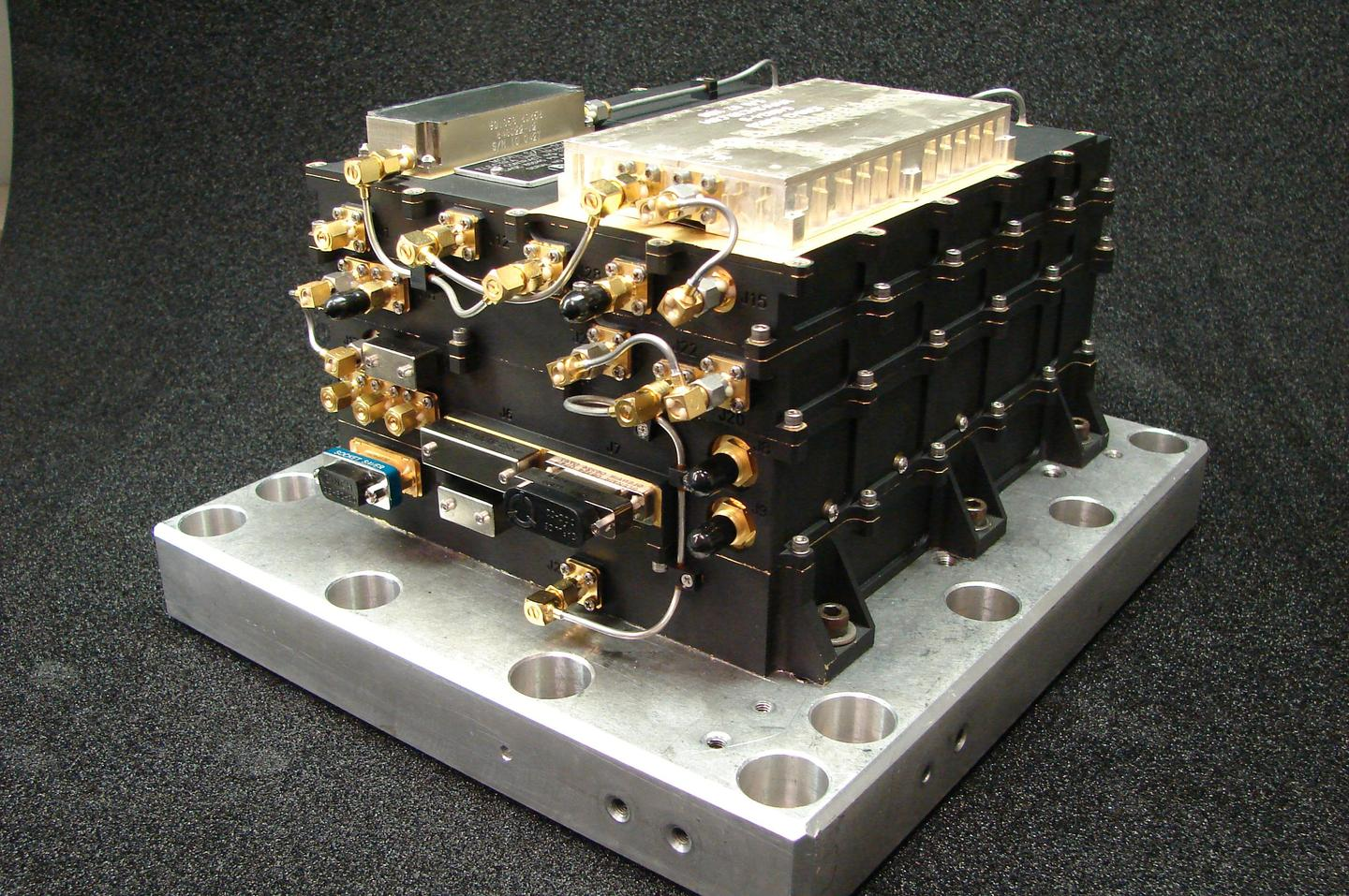 MAVEN's Electra UHF Transceiver (Photo: NASA/JPL-Caltech)