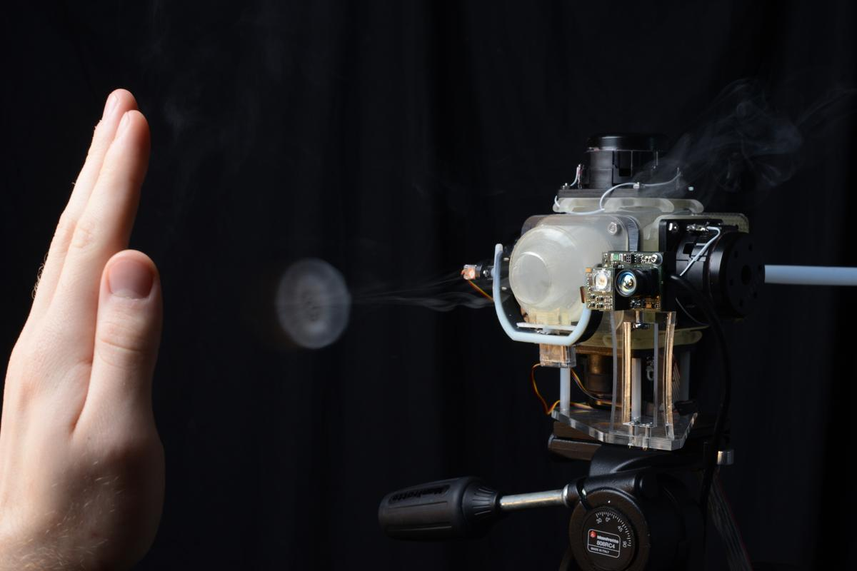 Aireal is a new haptic technology from Disney Research