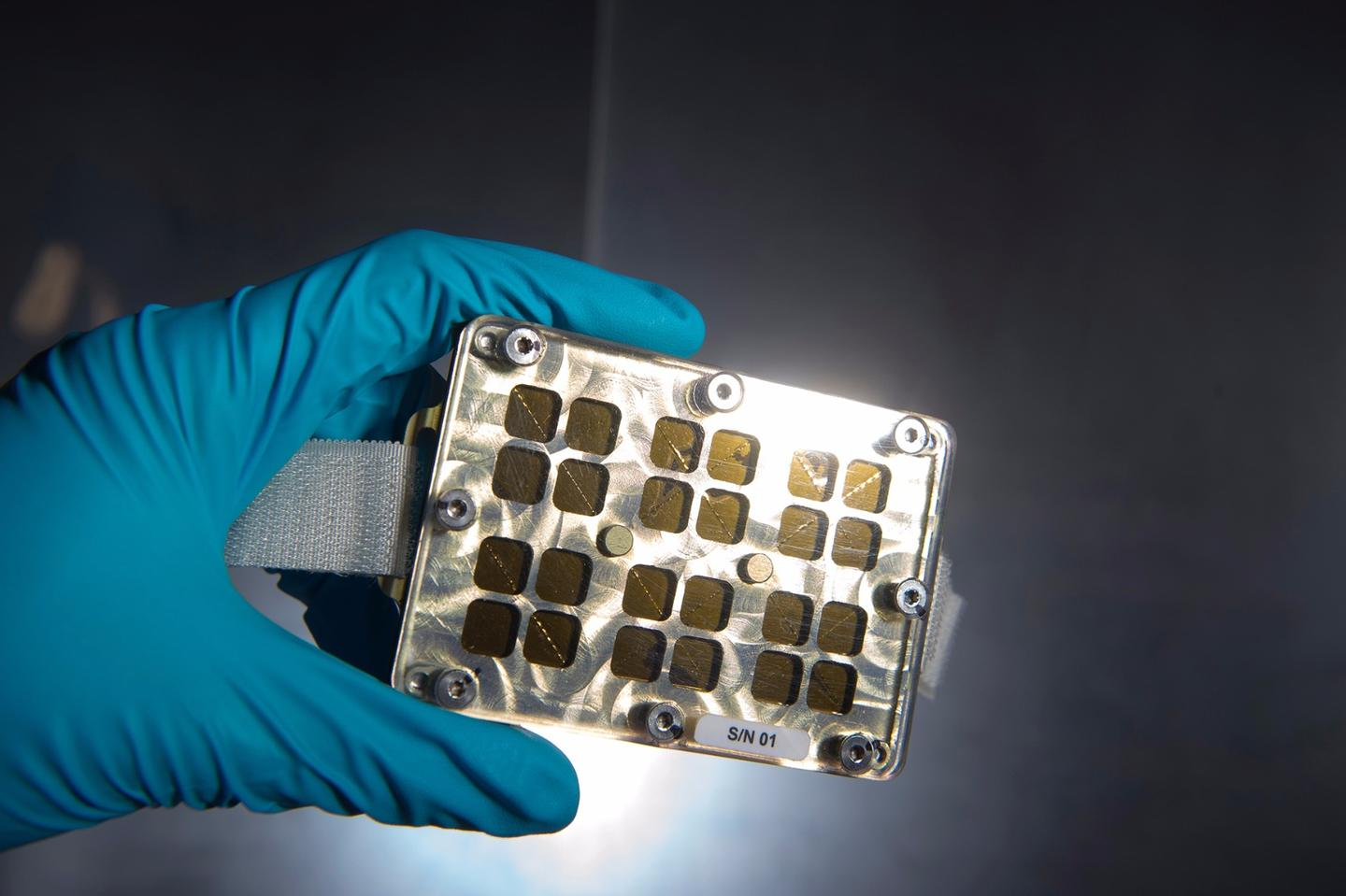 The Matiss experiment is investigating antibacterial properties of materials in space