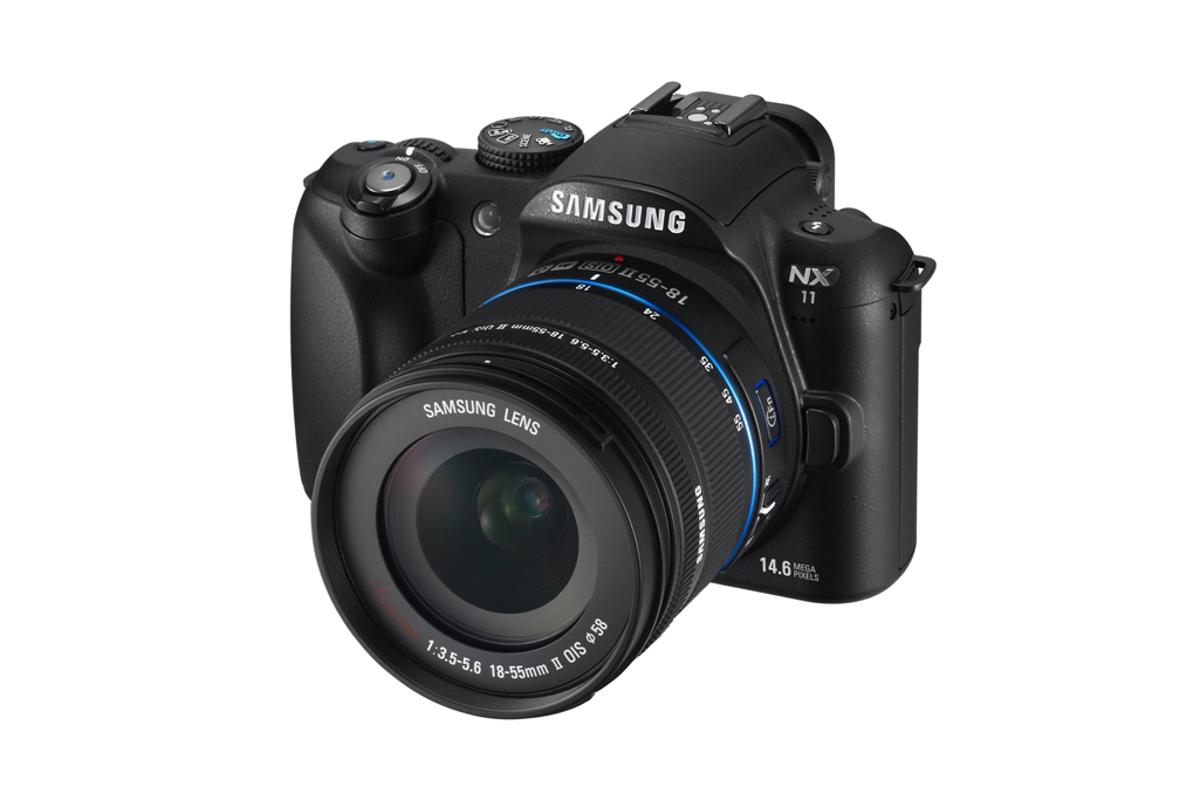 Samsung's NX11 mirrorless interchangeable lens camera is set for release in February 2011