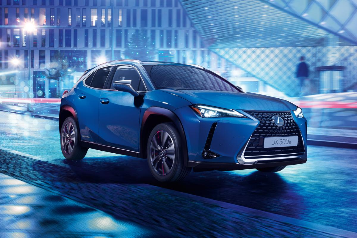 The Lexus UX 300e will go on sale in China and Europe in 2020, and then in Japan early in 2021