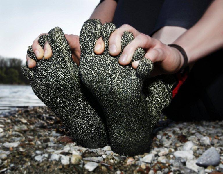 Five toe articulation