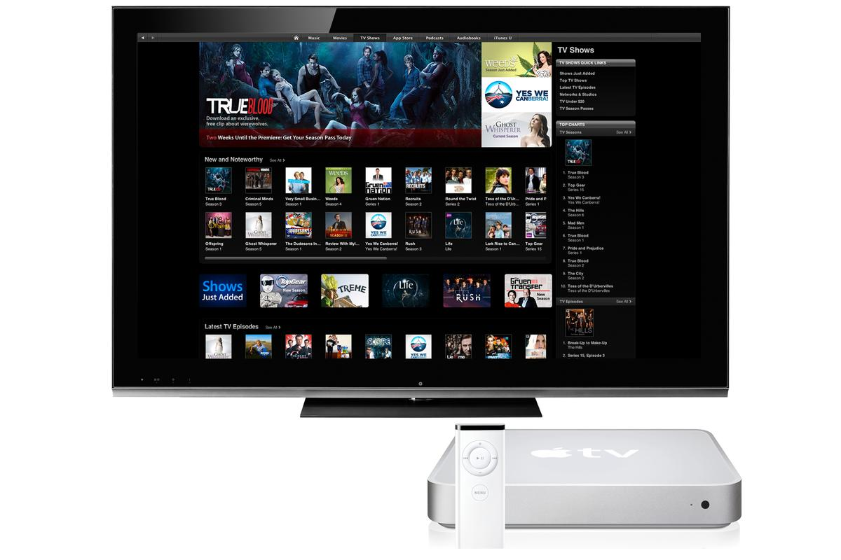Apple TV is set for an internal makeover and name change to iTV (digitally altered image)